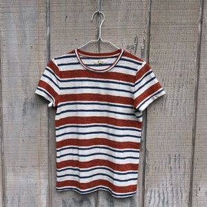{Madewell} Striped Tee! Size Small